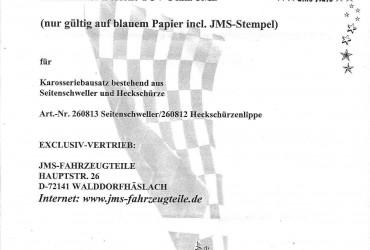 JMS Schweller Kadett E