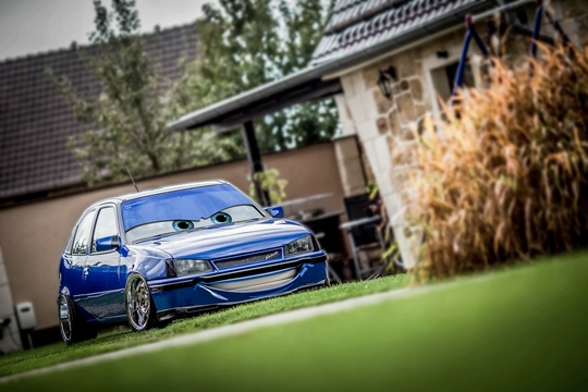 "Noeenz Kadett im ""cars Style"""