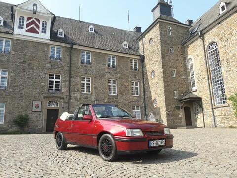 In der Schloss-Stadt Hückeswagen