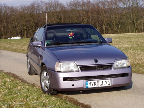 neue Felgen, neue Front Frühjahr 2008