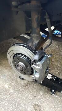 GSI Bremse mit Tarox Scheibe - Probleme damit beseitigt