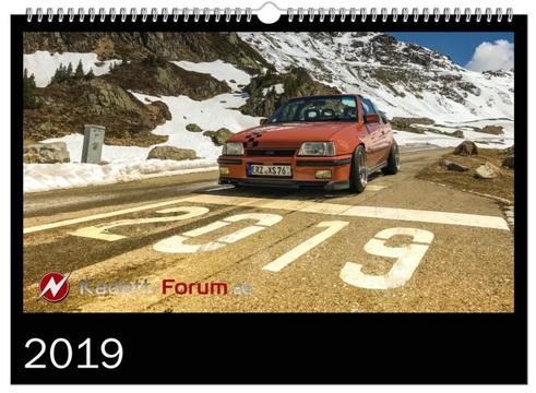 Forumskalender 2019 - Titelblatt