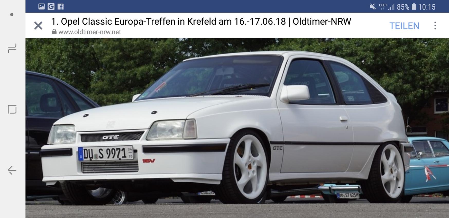 1. Classic Europa Treffen in Krefeld Oldtimer  NRW