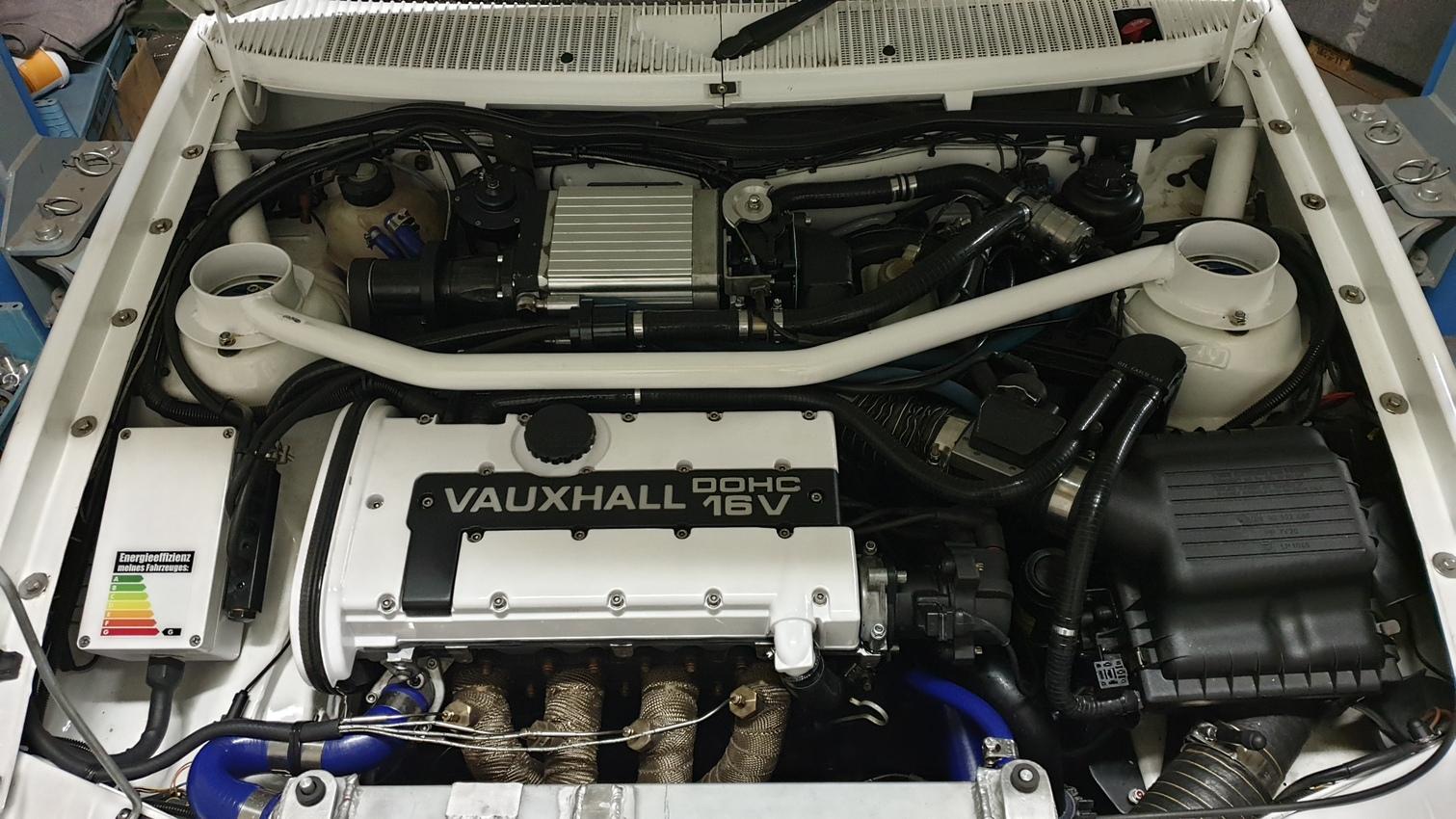 C20XE mit Kompressor