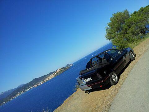 Kadett Cabrio auf Elba