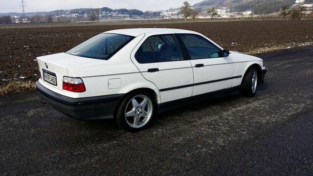 Winterauto BMW E36