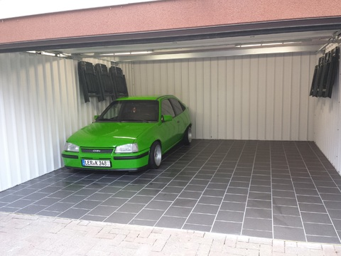 In der Garage