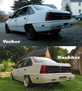 Vorher / Nachher Vergleich