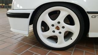 Porsche 993 Bremsanlage mit 18 Zoll Porsche Felgen