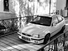 My white Kadett gsi 16V