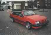 Mein roter Ascona Cabrio